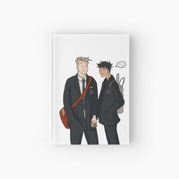 Nick and Charlie Hardcover Journal