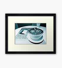 Aged Coffee Art Framed Print