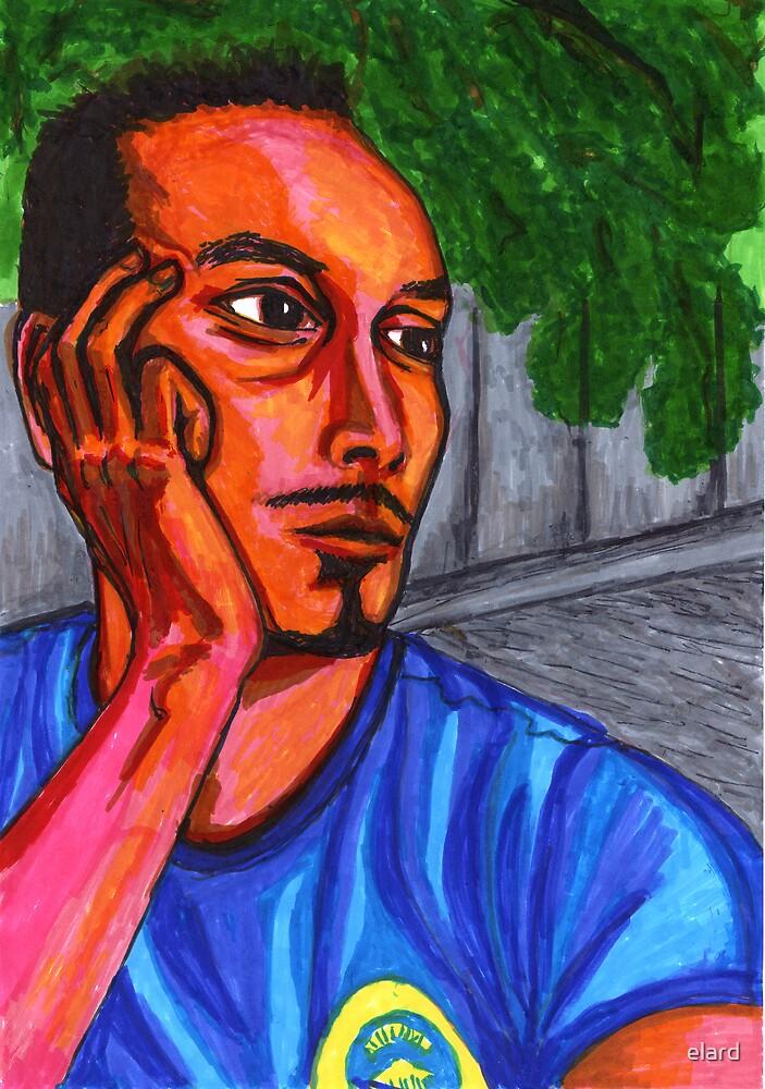 self portrait no.15 by elard