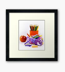 All the objects you need to go to class Framed Print