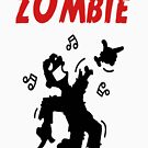 Dancing zombie loses his hand by Julianco