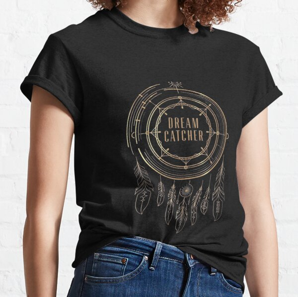 Fall Out Boy T-shirt Dream Catcher Women/'s Black