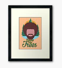 Happy Little Trees Framed Print