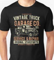 Truck Retro Vintage Unisex T-Shirt