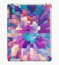 Colorful Exploding Blocks 3 iPad Case/Skin