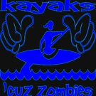 This Girl Kayaks Cuz Zombies Can�t Swim by Julianco
