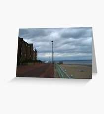 Looking down the Promenade Greeting Card