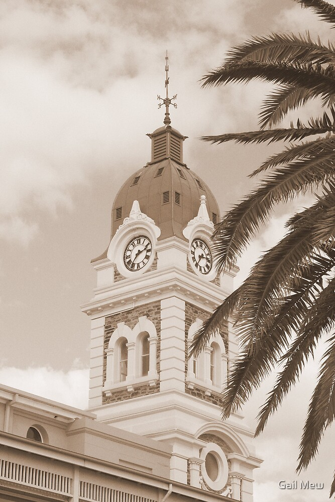 """Glenelg Clock Tower"" by Gail Mew"