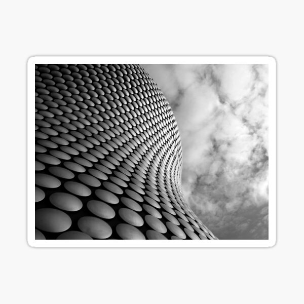 Clouds and Circles Sticker