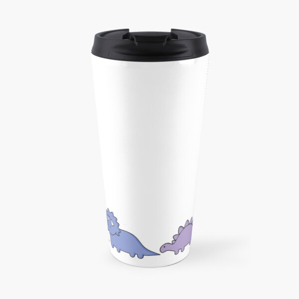 Dinosaur Illustrations Travel Mug
