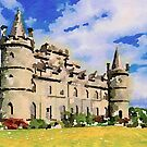 Inveraray Castle Scotland by David Alexander Elder