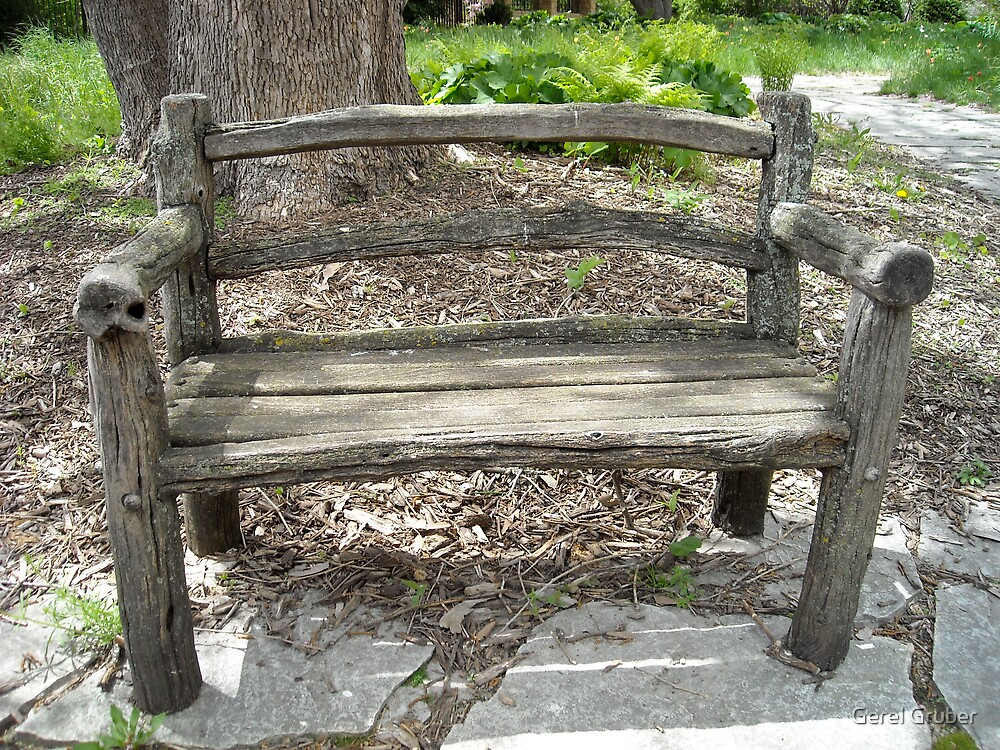 Park Bench by Gerel Gruber