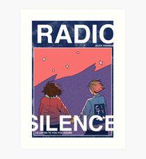 Radio Silence: Poster Art Print
