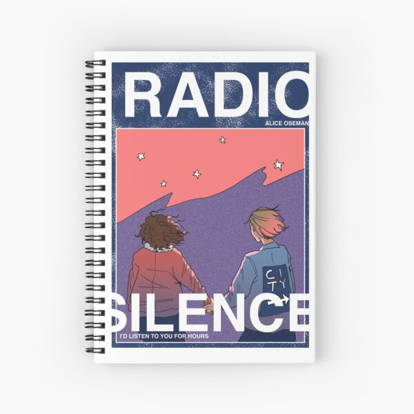 Radio Silence: Poster Spiral Notebook