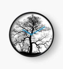 Bare Naked Tree Clock