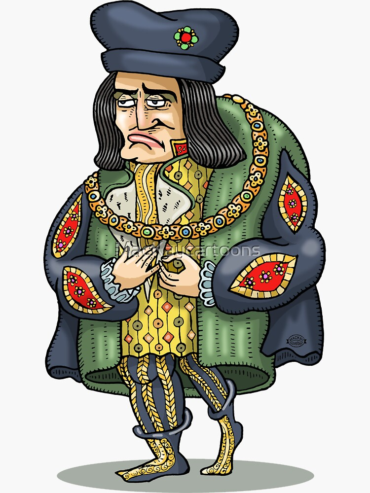 King Richard III by MacKaycartoons