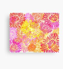 Flower Cracker Canvas Print