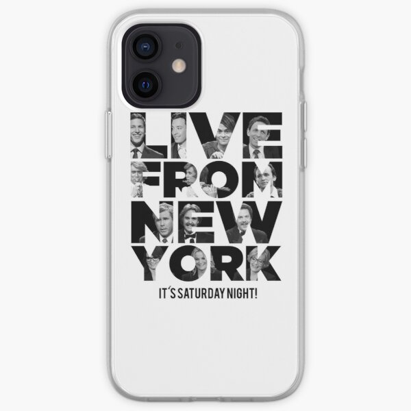 Live From New York, It's Saturday Night - Saturday Night Live iPhone Soft Case
