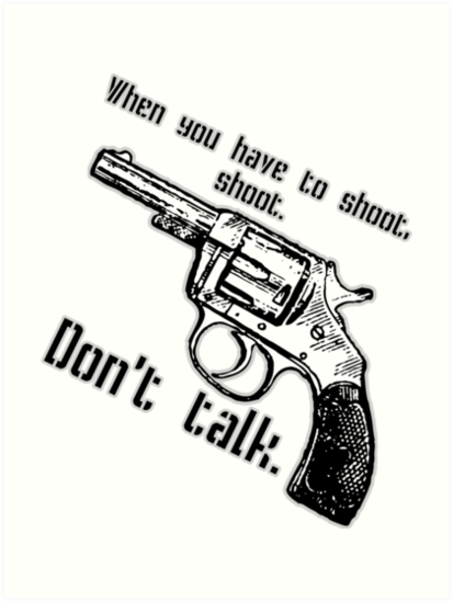 Dont Talk Art Prints By Judamarquez