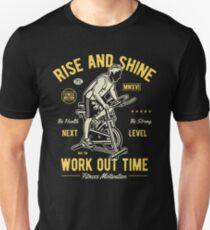 Spinning Bike Retro Vintage Unisex T-Shirt