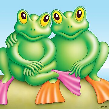 FROG  COUPLE by mistero