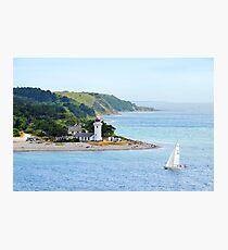 Sletterhage Lighthouse, Denmark Photographic Print