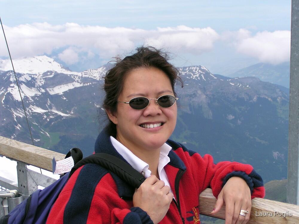 Laurie at Jungfraujoch by Laura Puglia