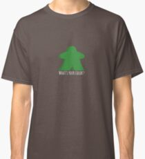 GReen meeple - what's your color ? Classic T-Shirt