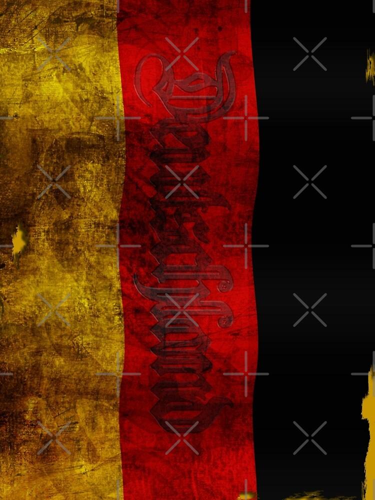 Deutsch Flagge - Vintage... von pASob-dESIGN