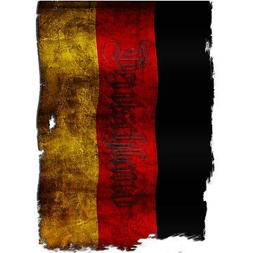 Deutsch Flagge - Vintage... by pASob-dESIGN
