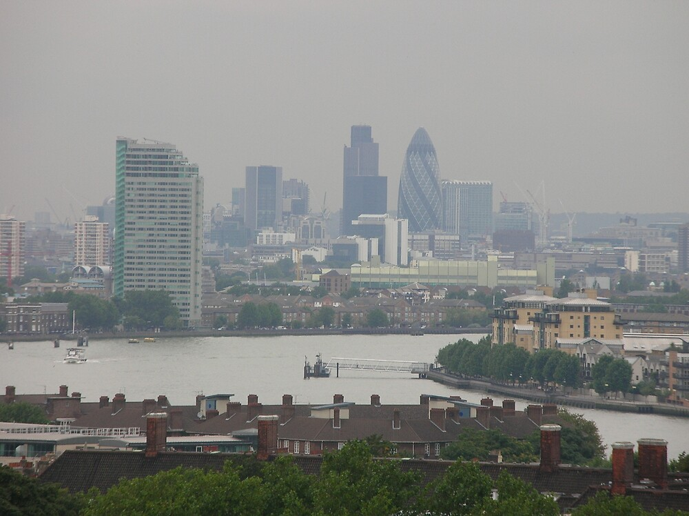 View from the Royal Observatory by yankeegrl99