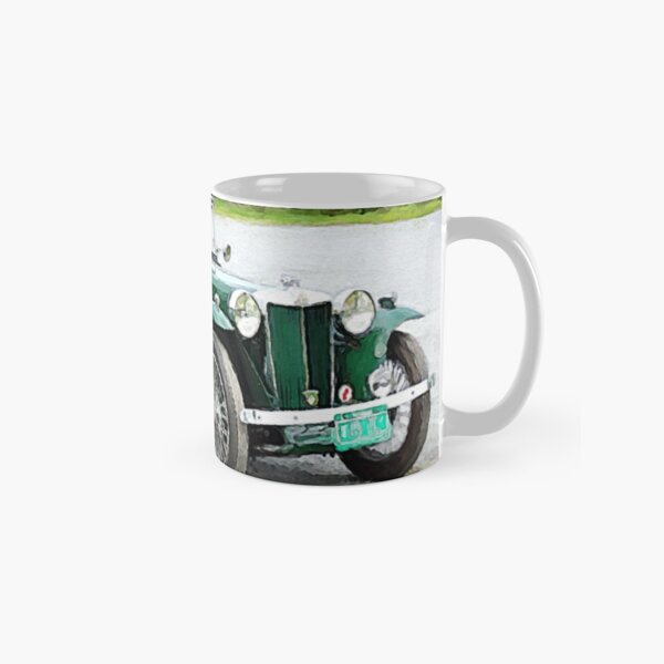 1949 MG TC Roadster watercolour Classic Mug