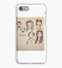 Faces in places  iPhone Case/Skin