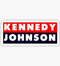 1960 Vote Kennedy Johnson Sticker