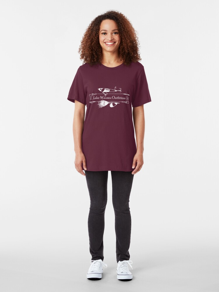 Alternate view of Lake Wausau Outfitters Slim Fit T-Shirt