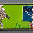 Self Consuming Rat by Sam Dantone