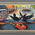 A Murder of Crows by Sam Dantone