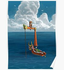 The Great Sea - Wind Waker Poster