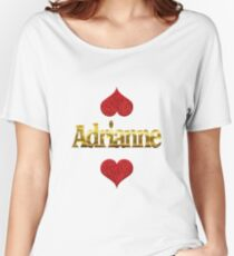 Adrianne Women's Relaxed Fit T-Shirt