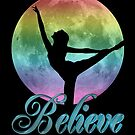 Regenbogen-Tänzerin von Irisangel