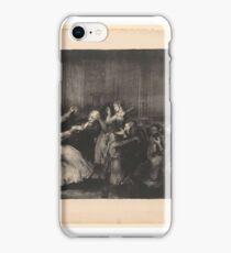 Dance in a Madhouse, First State by George Bellows (1882–1925) iPhone Case/Skin