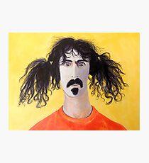 Frank Zappa Photographic Print