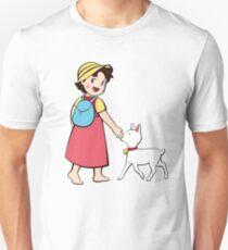 Heidi and litle goat Unisex T-Shirt