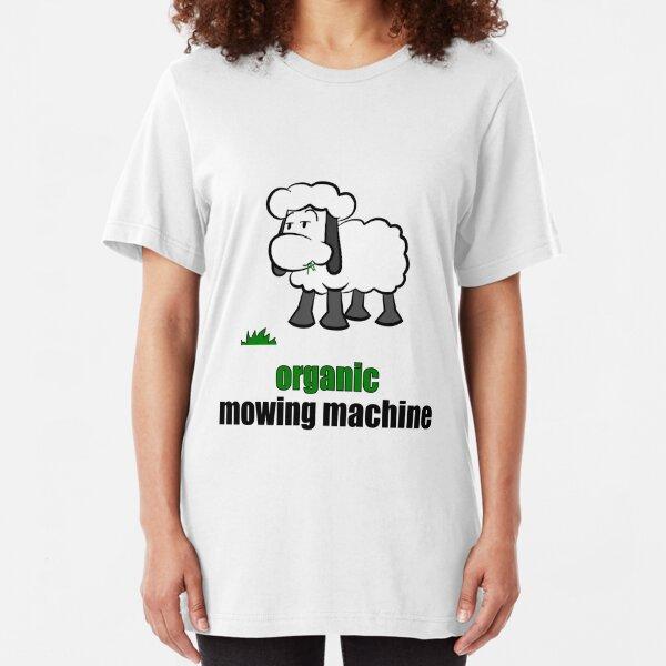organic mowing maschine Slim Fit T-Shirt