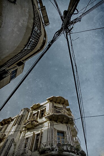 busy by cables  by Victor Bezrukov