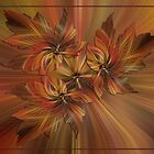 Autumn Leaves With a Twirl by Kathy Weaver