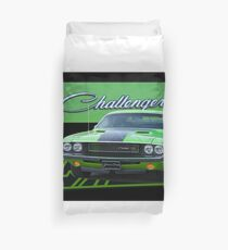 1970 Dodge Challenger RT V Duvet Cover