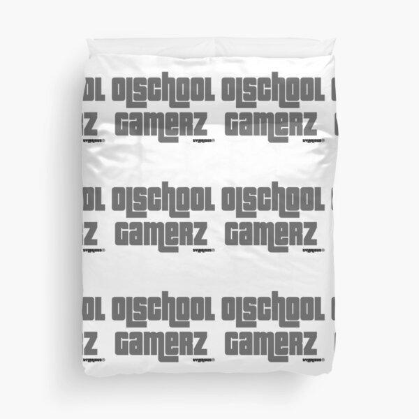 Olschool Gamerz Gray Duvet Cover