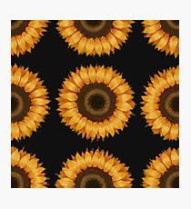 Momma's Sunflower Pattern Photographic Print