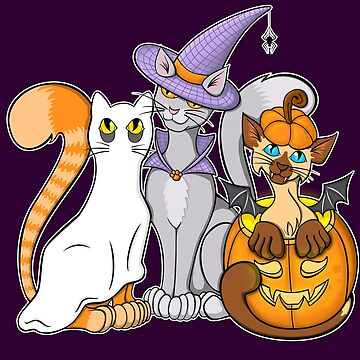 Halloween Cats by Ardente